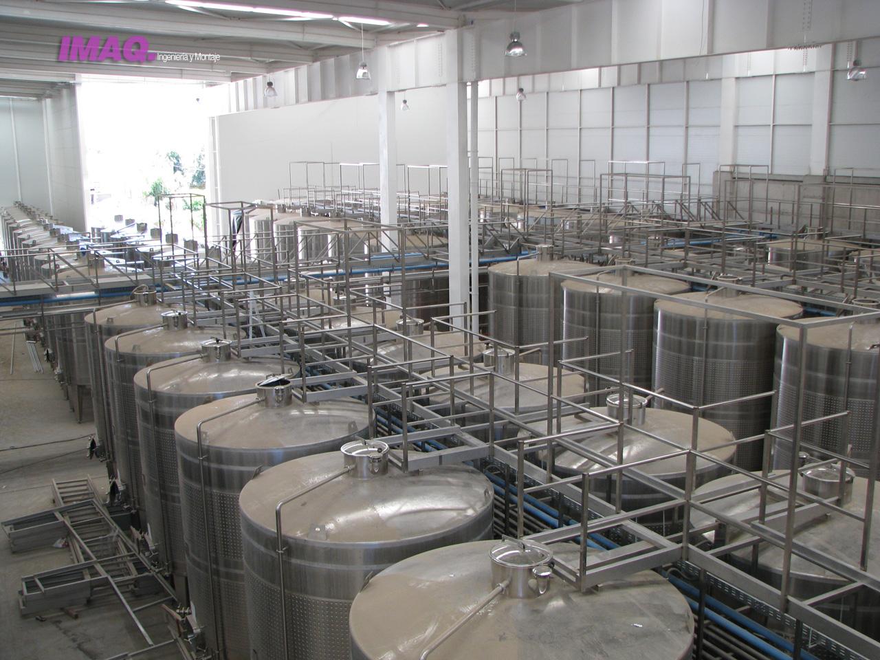 Lapostol imaq ingenier a for Fabricacion de estanques